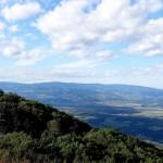 Boč, pogled na Panonsko nižino (fotogalerija)