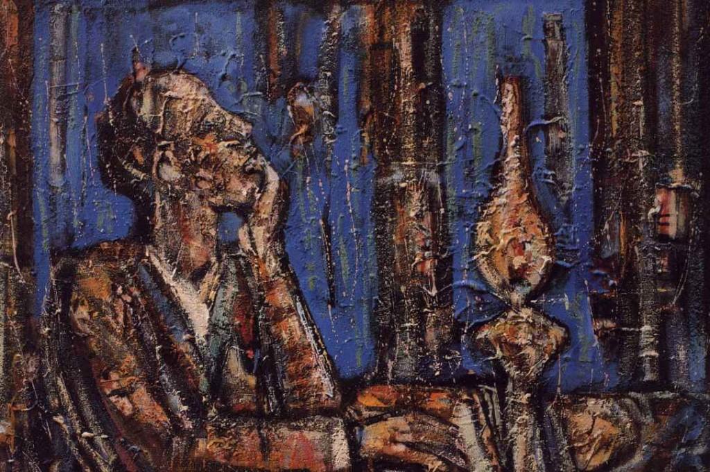 Pesnik ob petrolejki 1964