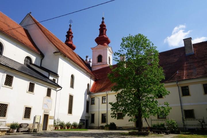 cerkev svete trojice v slovenskih goricah