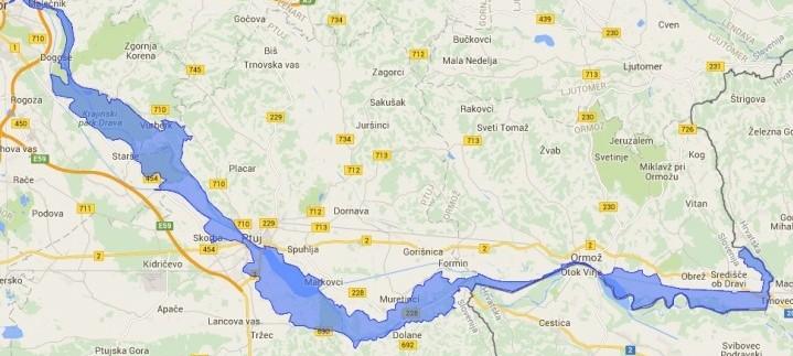 LiveDrava: Obnova rečnega ekosistema Drave v Sloveniji