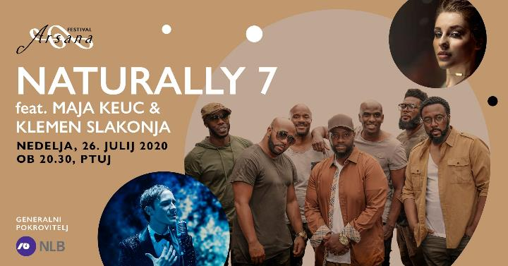 Festival Arsana 2020: Naturally 7 feat & Maja Keuc & Klemen Slakonja